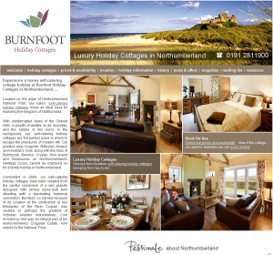 Burnfoot Holiday Cottages, Northumberland